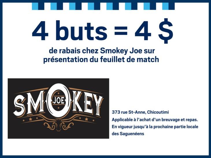 promo smokey joe