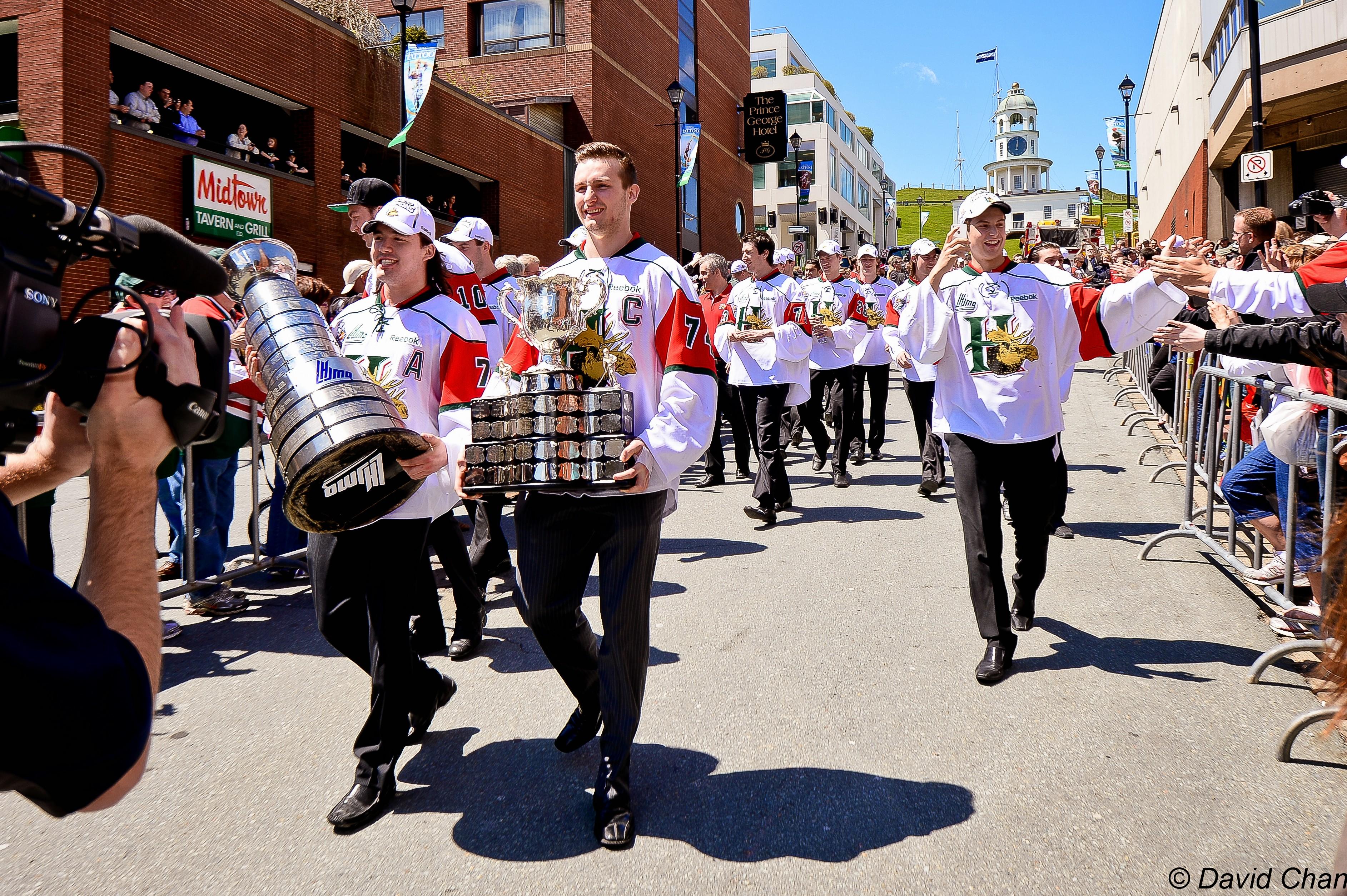 Memorial Cup Parade