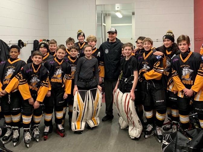 Gravel Minor Hockey Surprise