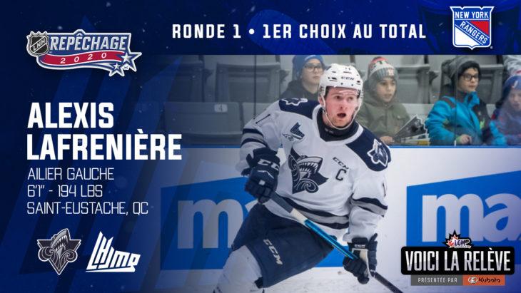 Lafreniere - Repêchage NHL FR