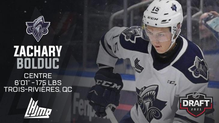 Repêchage NHL 2021 - Zachary Bolduc copy