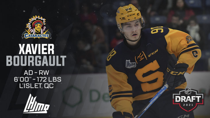 Repêchage NHL 2021 - Xavier Bourgault copy