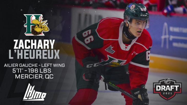 Repêchage NHL 2021 - Zachary L'Heureux copy
