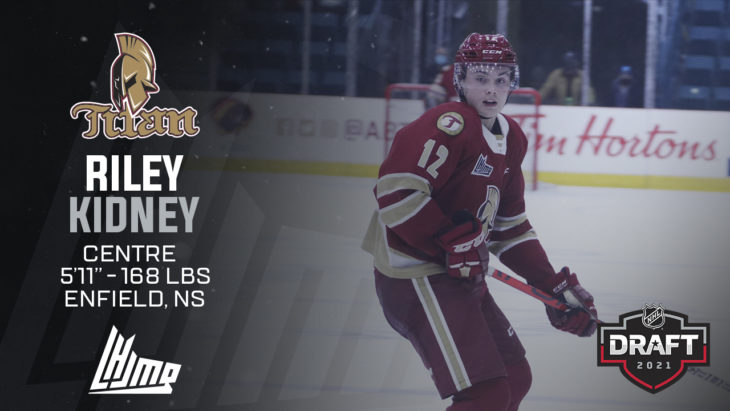 Repêchage NHL 2021 - Riley Kidney