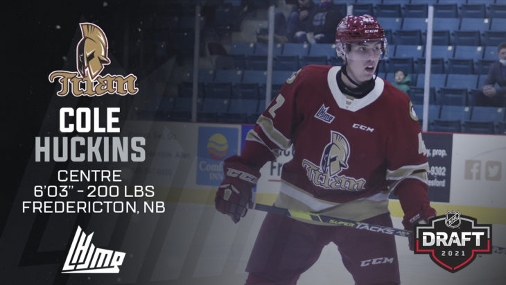 Repêchage NHL 2021 - Cole Huckins