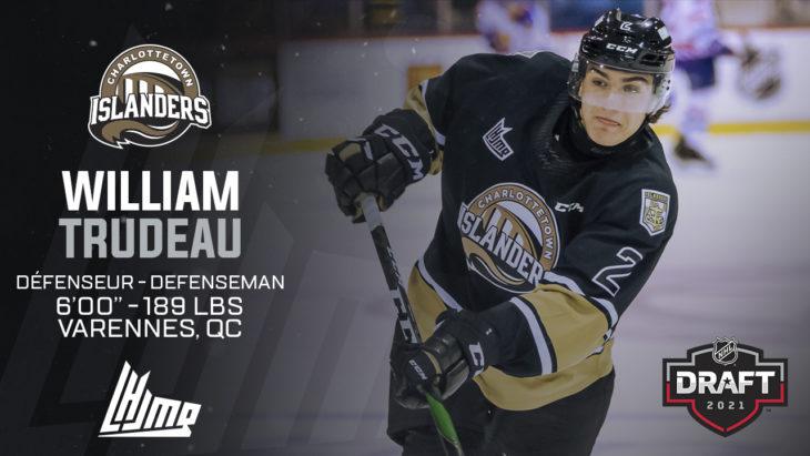 Repêchage NHL 2021 - William Trudeau