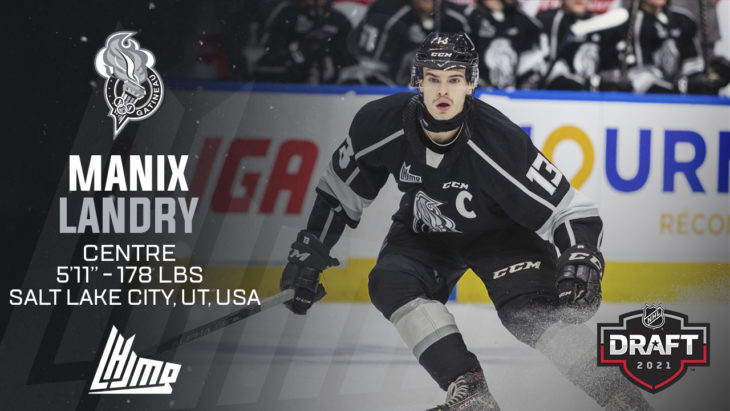 Repêchage NHL 2021 - Manix Landry