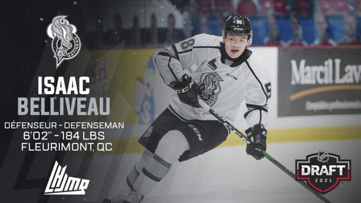 Repêchage NHL 2021 - Isaac Belliveau