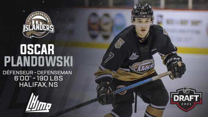 Repêchage NHL 2021 - Oscar Plandowski