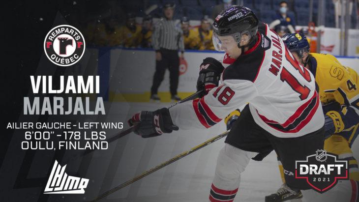 Repêchage NHL 2021 - Viljami Marjala
