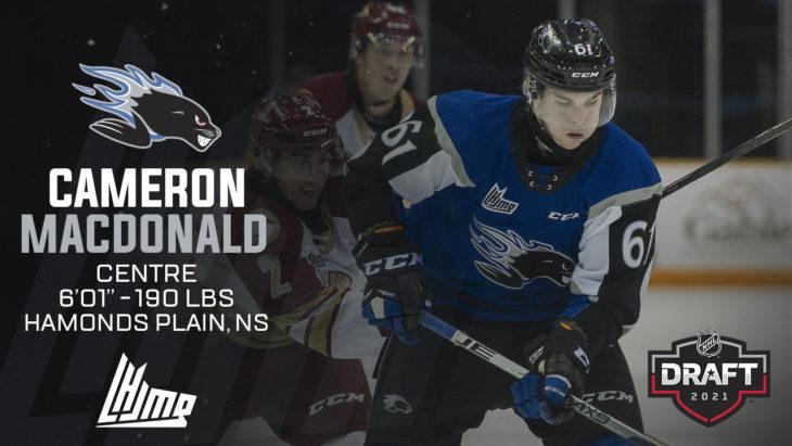 Repêchage NHL 2021 - Cameron MacDonald