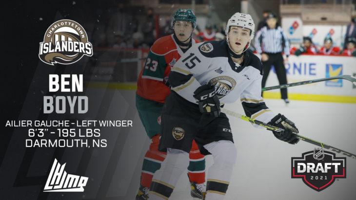 Repêchage NHL 2021 - Ben Boyd