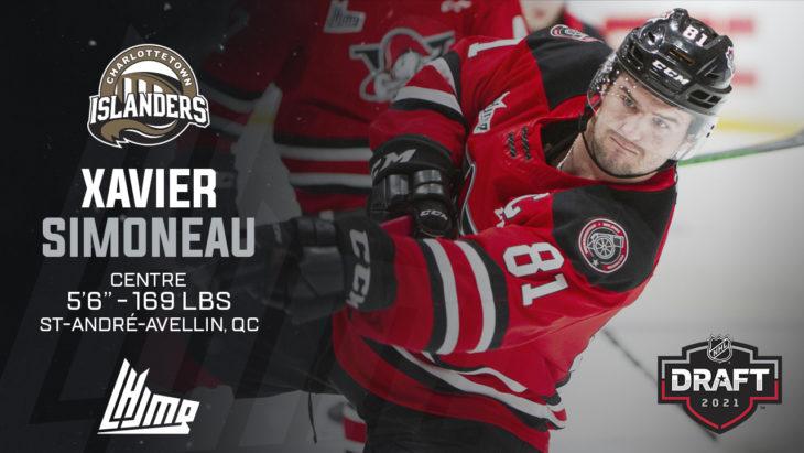 Repêchage NHL 2021 - Xavier Simoneau