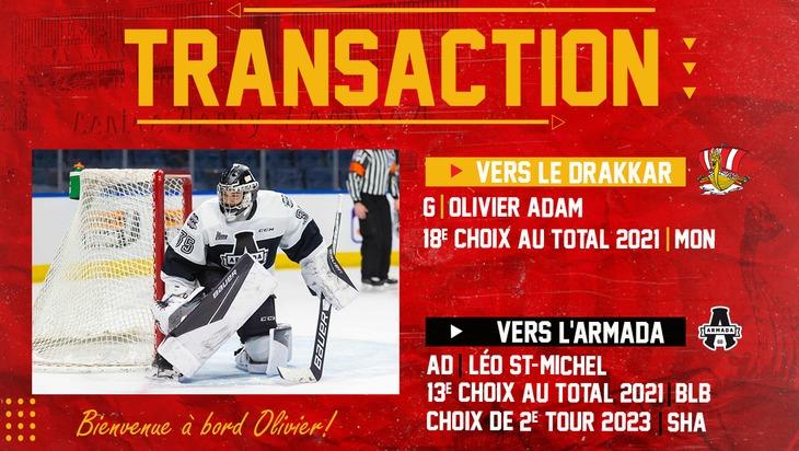 Transaction Olivier Adam