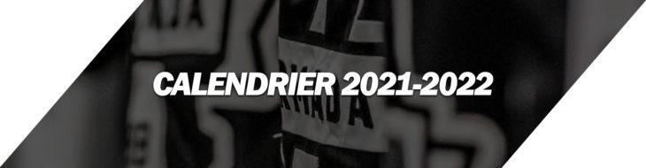 CALENDRIER 2021-2022